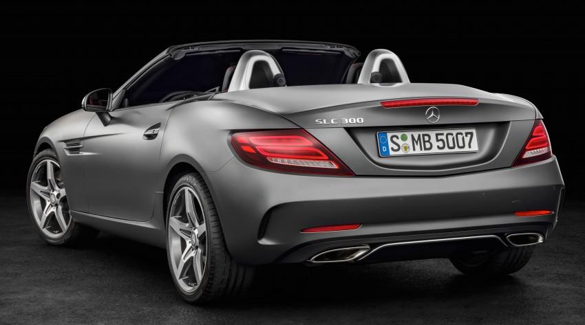 Mercedes-Benz SLC roadster debuts ahead of Detroit Image #419730