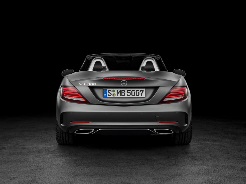 Mercedes-Benz SLC roadster debuts ahead of Detroit Image #419732