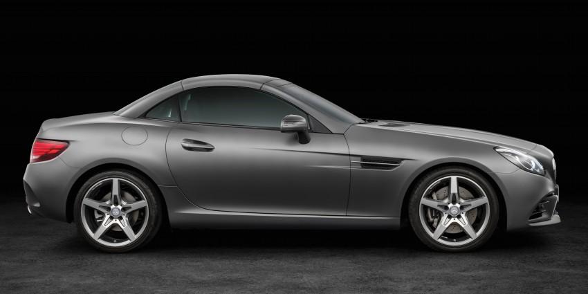 Mercedes-Benz SLC roadster debuts ahead of Detroit Image #419735