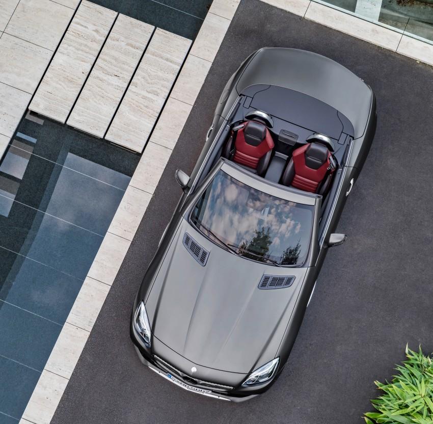 Mercedes-Benz SLC roadster debuts ahead of Detroit Image #419744