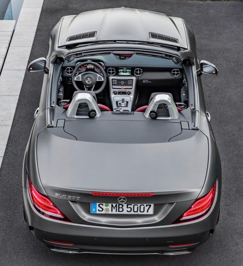 Mercedes-Benz SLC roadster debuts ahead of Detroit Image #419746