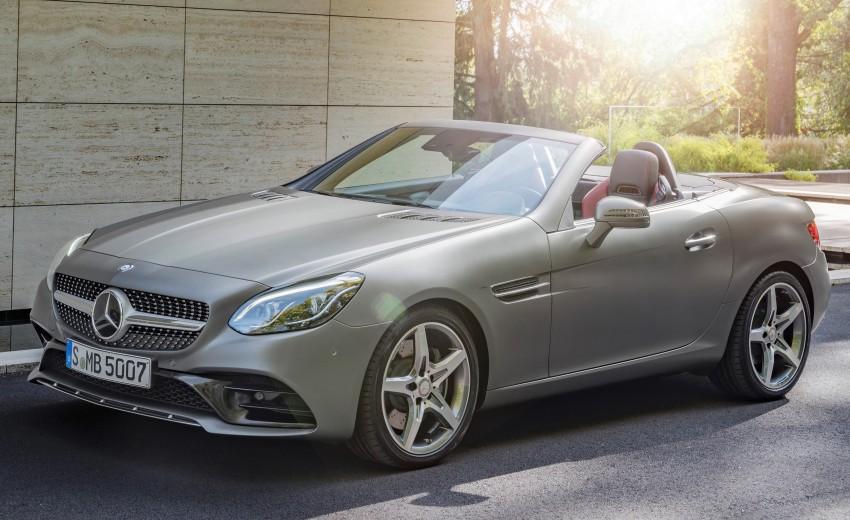 Mercedes-Benz SLC roadster debuts ahead of Detroit Image #419751