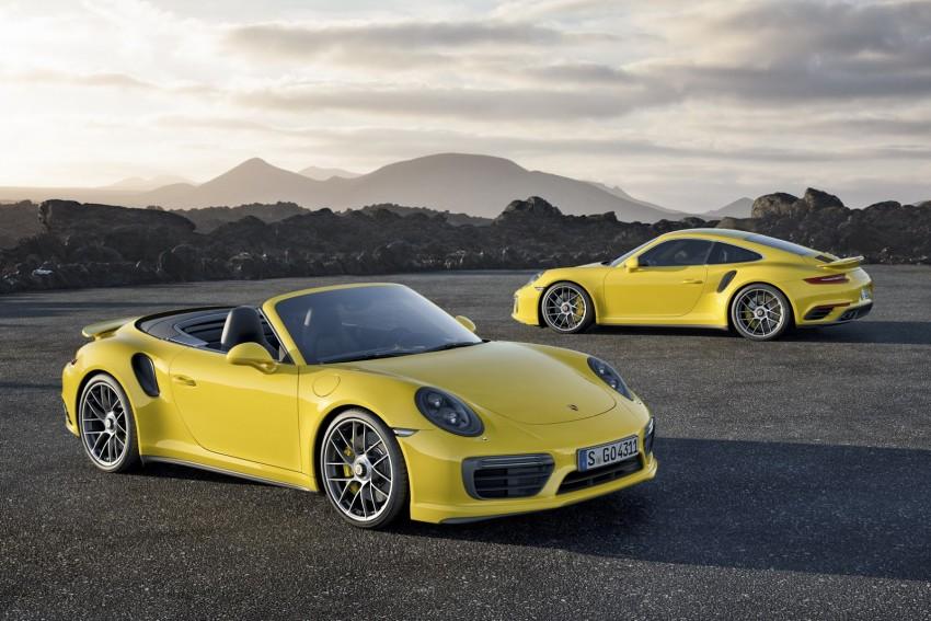 2016 Porsche 911 Turbo, Turbo S facelift revealed Image #414023