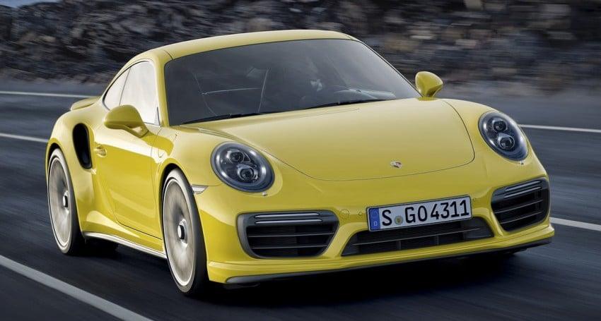 2016 Porsche 911 Turbo, Turbo S facelift revealed Image #414024