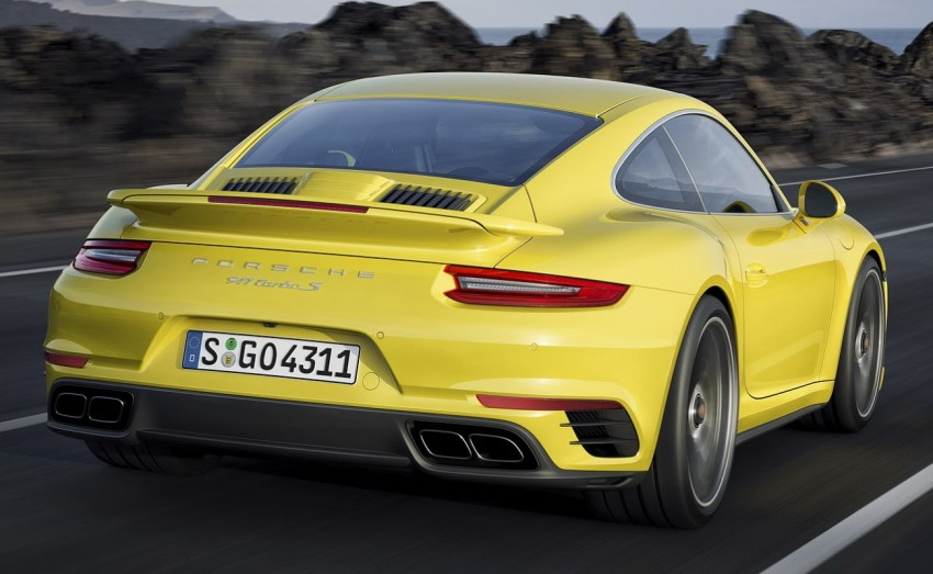 2016 Porsche 911 Turbo, Turbo S facelift revealed Image #414025
