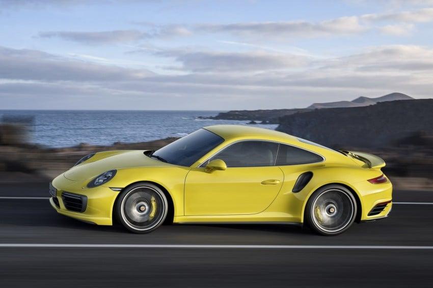 2016 Porsche 911 Turbo, Turbo S facelift revealed Image #414026