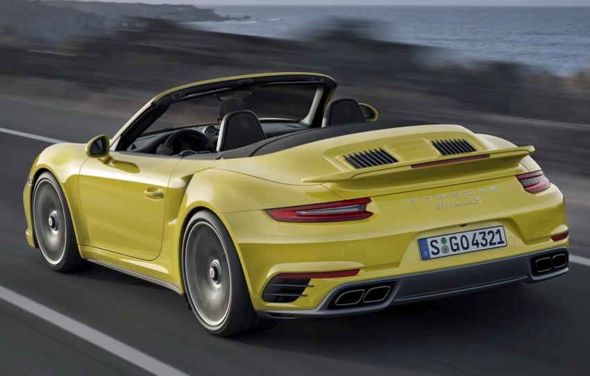 2016 Porsche 911 Turbo, Turbo S facelift revealed Image #414027