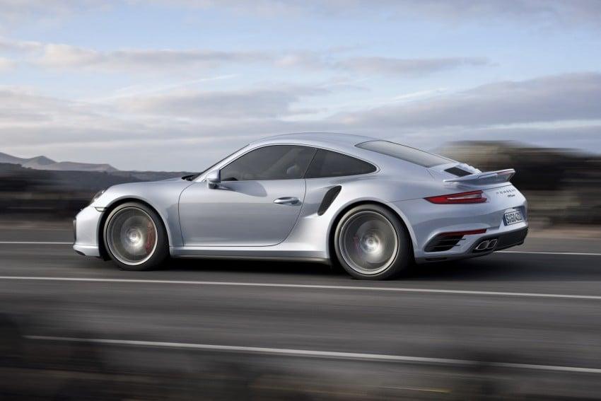 2016 Porsche 911 Turbo, Turbo S facelift revealed Image #414029