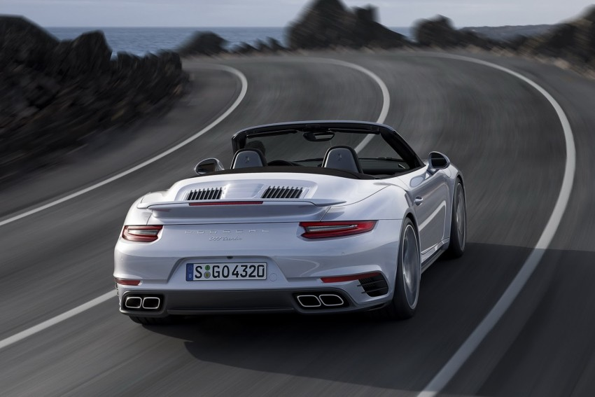 2016 Porsche 911 Turbo, Turbo S facelift revealed Image #414030