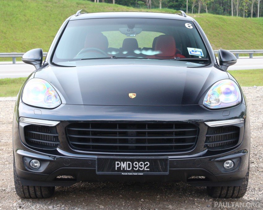 DRIVEN: Porsche Cayenne facelift – to Johor and back Image #420803