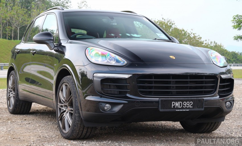 DRIVEN: Porsche Cayenne facelift – to Johor and back Image #420804