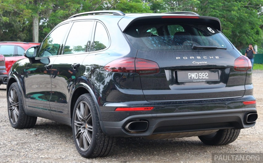 DRIVEN: Porsche Cayenne facelift – to Johor and back Image #420805