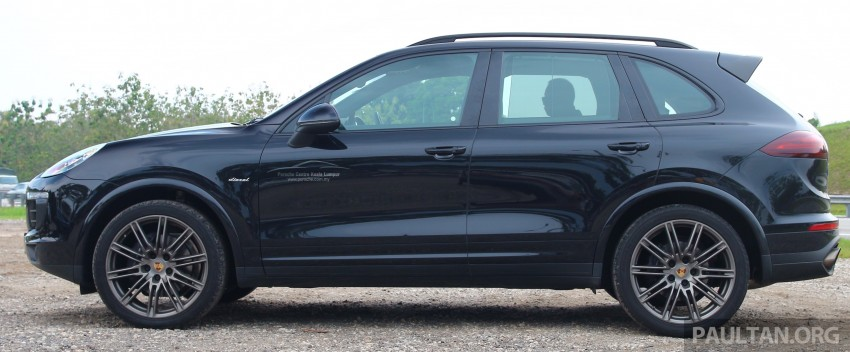 DRIVEN: Porsche Cayenne facelift – to Johor and back Image #420807