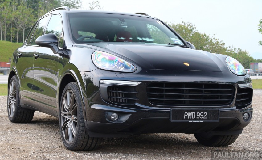 DRIVEN: Porsche Cayenne facelift – to Johor and back Image #420816