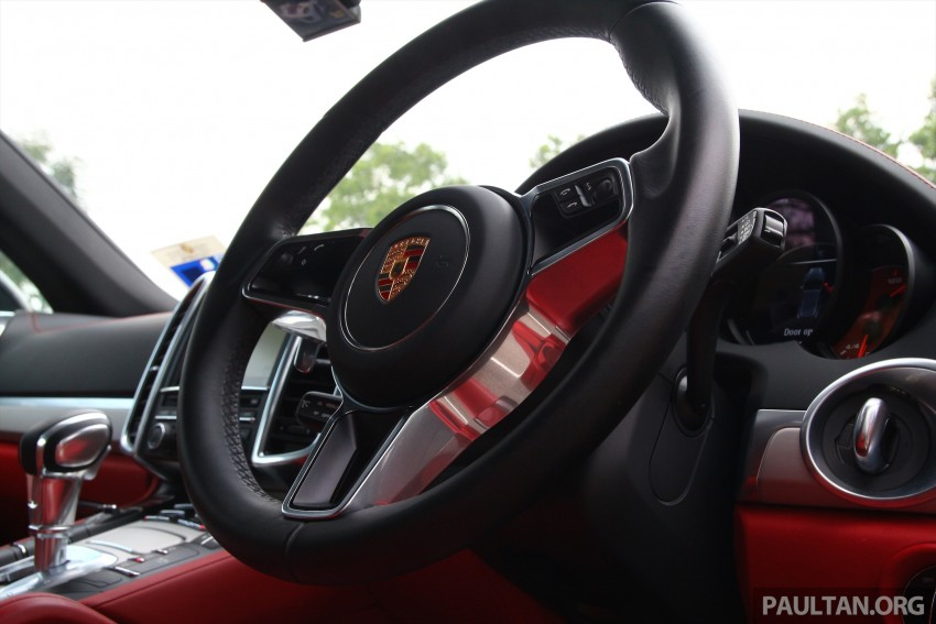 DRIVEN: Porsche Cayenne facelift – to Johor and back Image #420839