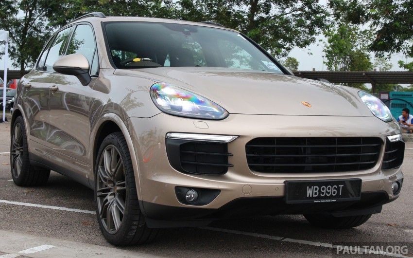 DRIVEN: Porsche Cayenne facelift – to Johor and back Image #420754