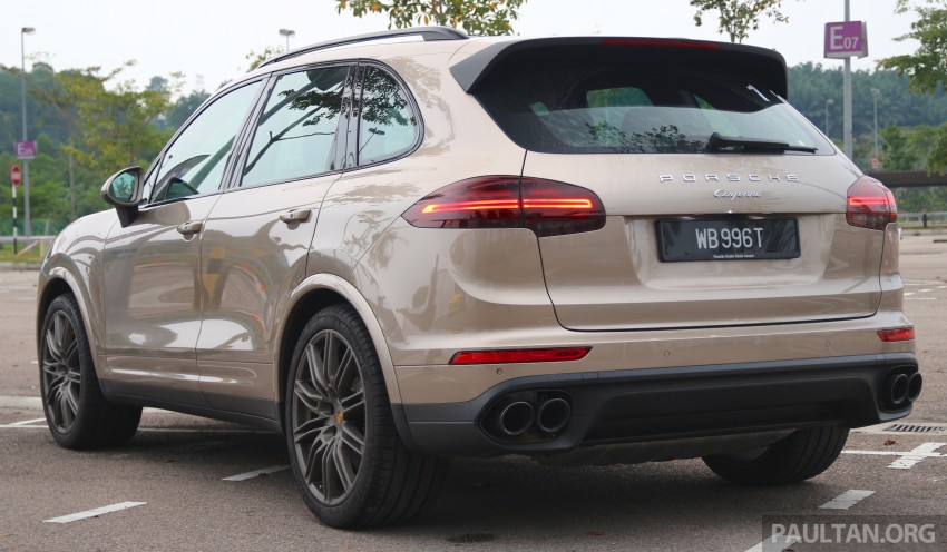 DRIVEN: Porsche Cayenne facelift – to Johor and back Image #420756