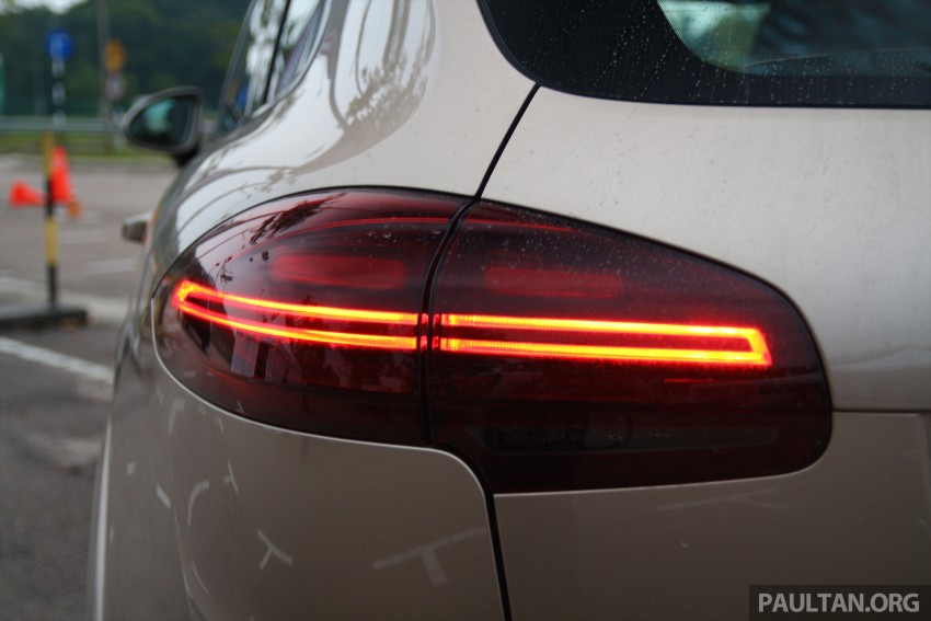 DRIVEN: Porsche Cayenne facelift – to Johor and back Image #420759