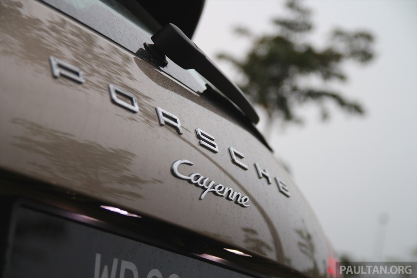 DRIVEN: Porsche Cayenne facelift – to Johor and back Image #420762