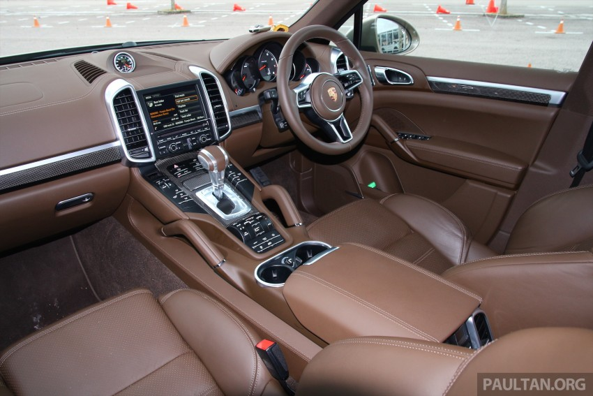 DRIVEN: Porsche Cayenne facelift – to Johor and back Image #420766