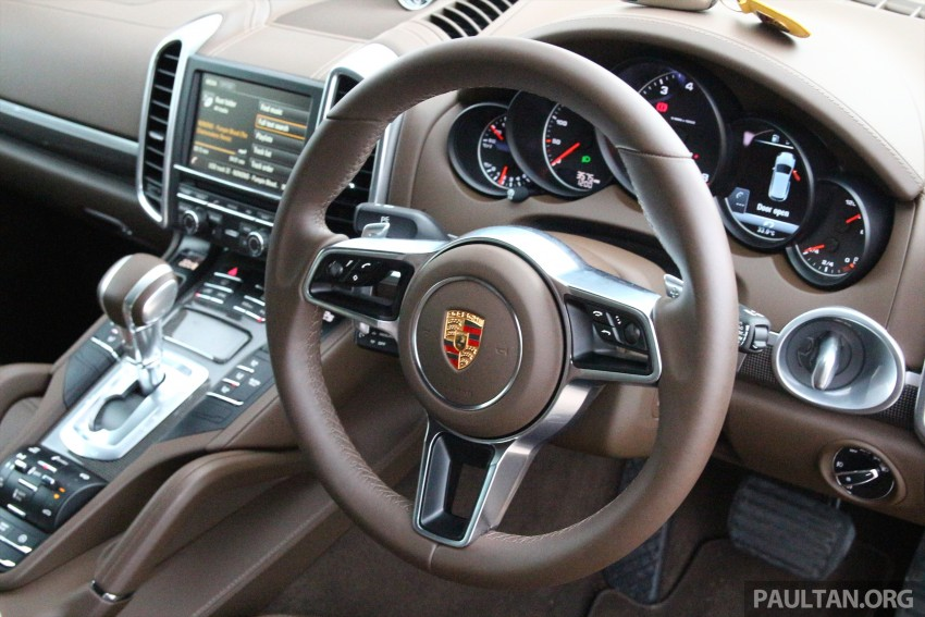 DRIVEN: Porsche Cayenne facelift – to Johor and back Image #420775