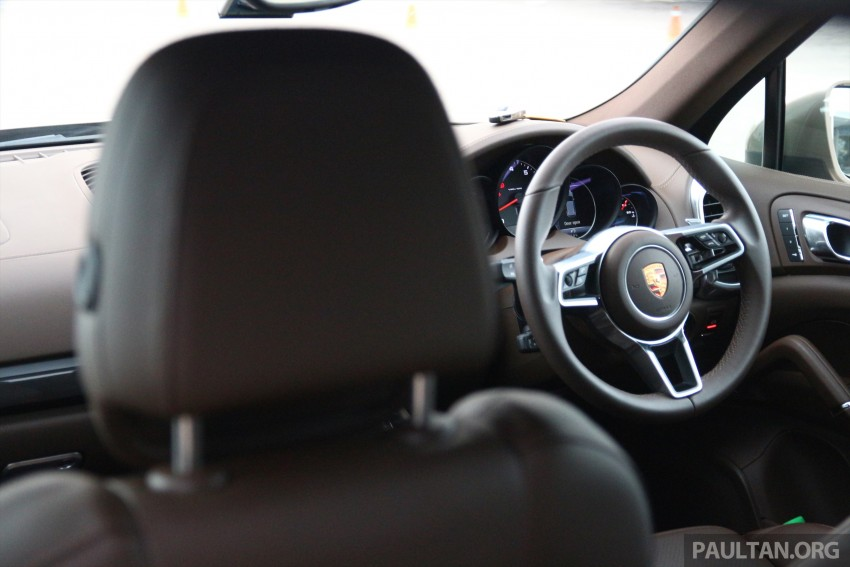 DRIVEN: Porsche Cayenne facelift – to Johor and back Image #420790