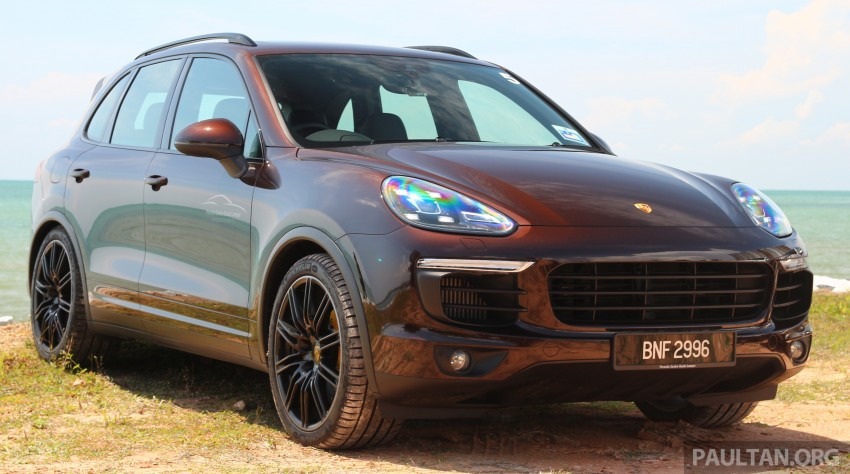 DRIVEN: Porsche Cayenne facelift – to Johor and back Image #420734