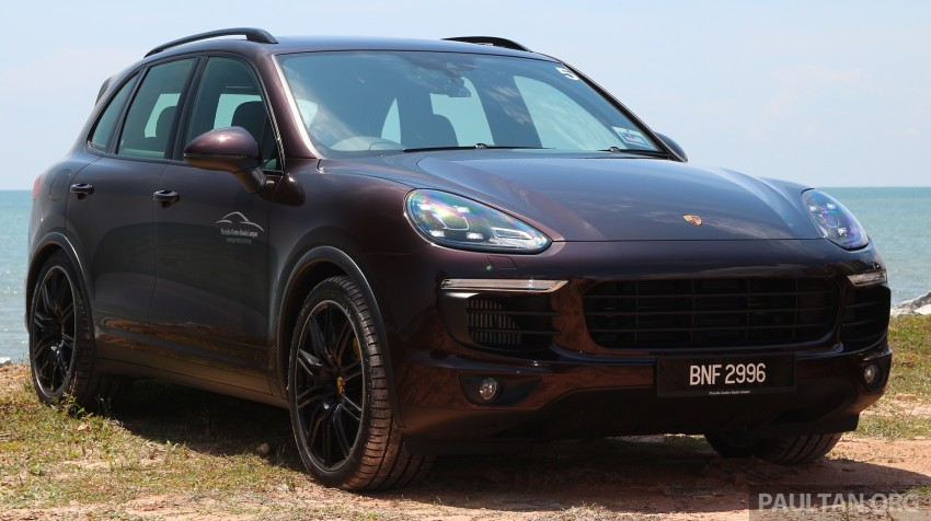 DRIVEN: Porsche Cayenne facelift – to Johor and back Image #420736