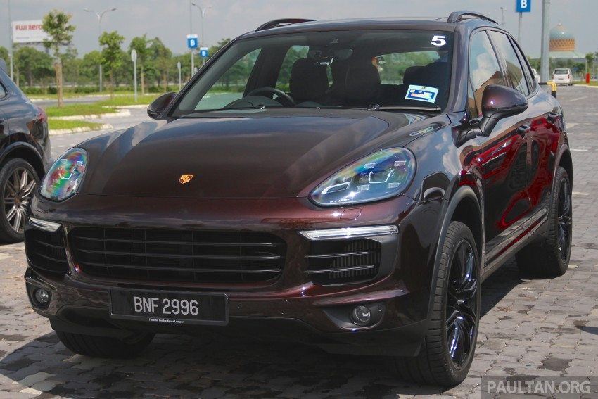 DRIVEN: Porsche Cayenne facelift – to Johor and back Image #420738