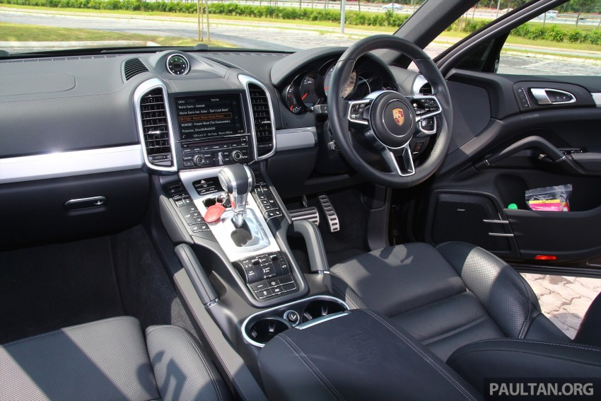DRIVEN: Porsche Cayenne facelift – to Johor and back Image #420749