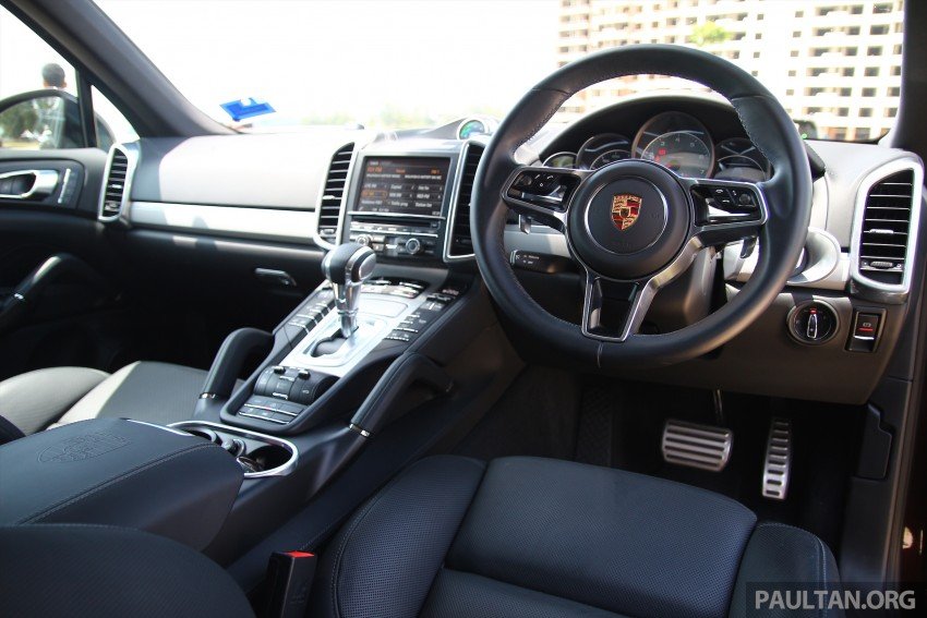 DRIVEN: Porsche Cayenne facelift – to Johor and back Image #420752