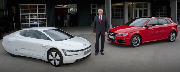 Audi Chief Technical Officer Prof. Dr. Ulrich Hackenberg on sustainability, mobility and the future at Stanford University