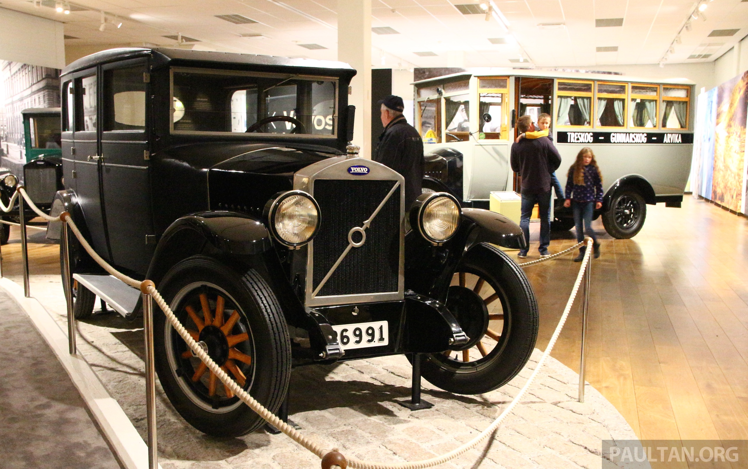 GALLERY: Volvo Museum – 88 years of Swedish pride
