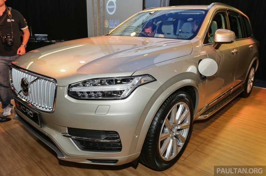 Volvo XC90 T8 Twin Engine launched in M'sia, RM454k Image #415594