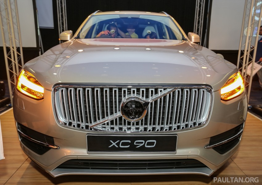 Volvo XC90 T8 Twin Engine launched in M'sia, RM454k Image #415595