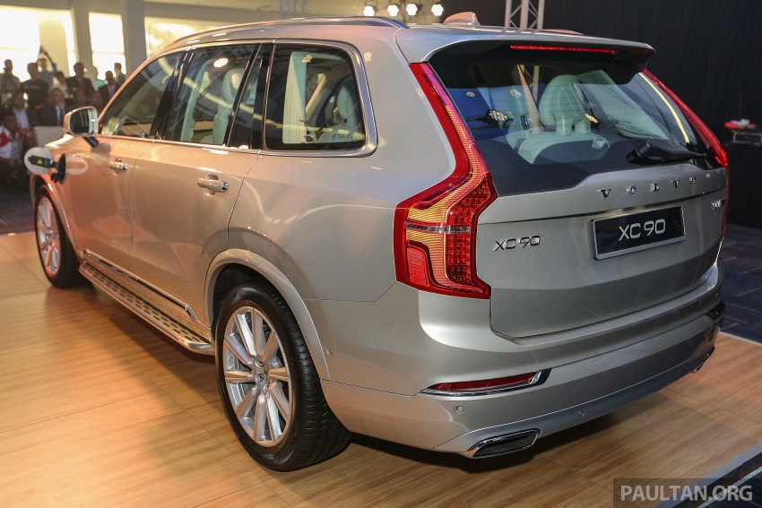 Volvo XC90 T8 Twin Engine launched in M'sia, RM454k Image #415605