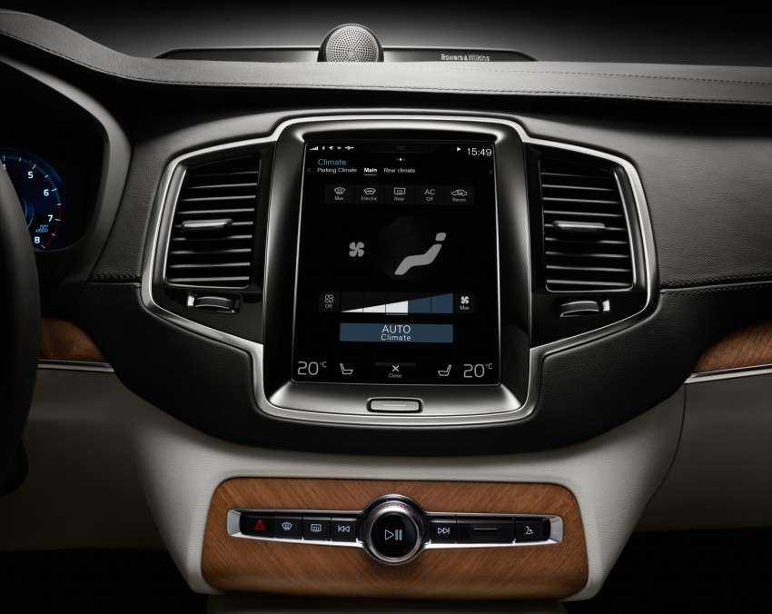 Volvo XC90 T8 Twin Engine launched in M'sia, RM454k Image #415250