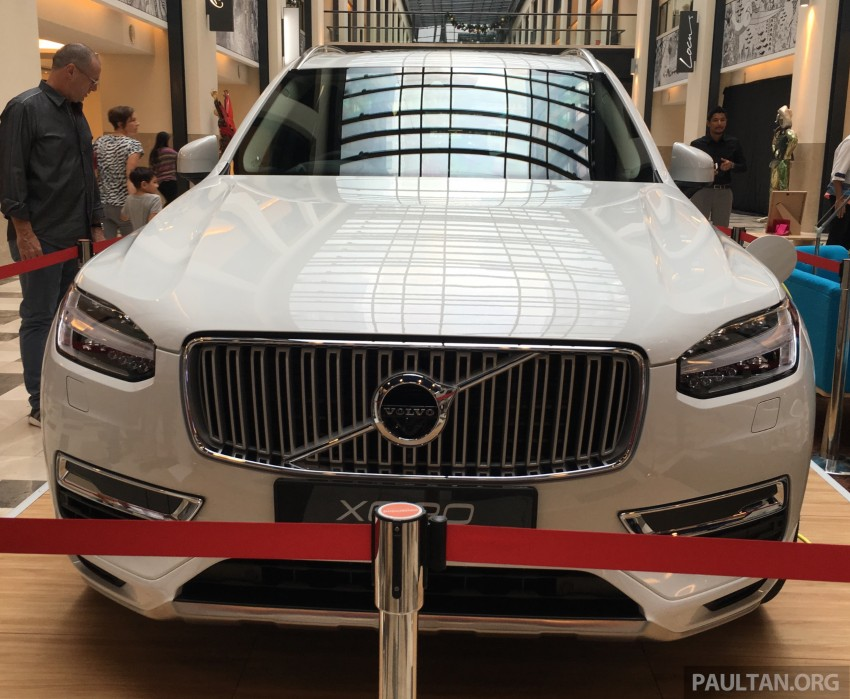 Volvo XC90 T8 Twin Engine launched in M'sia, RM454k Image #416434