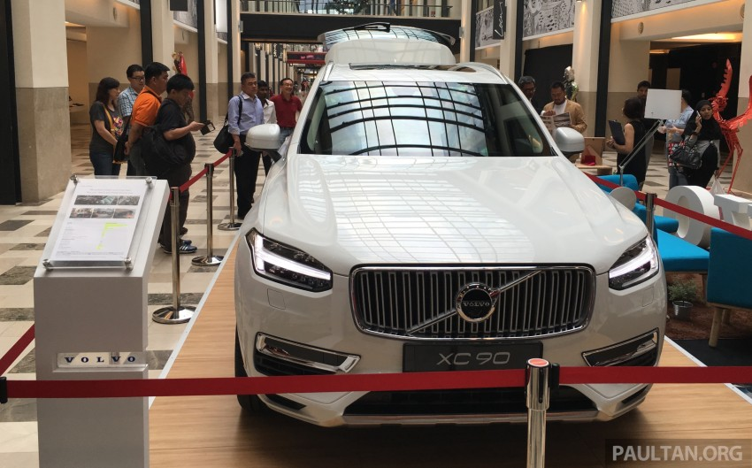 Volvo XC90 T8 Twin Engine launched in M'sia, RM454k Image #416435