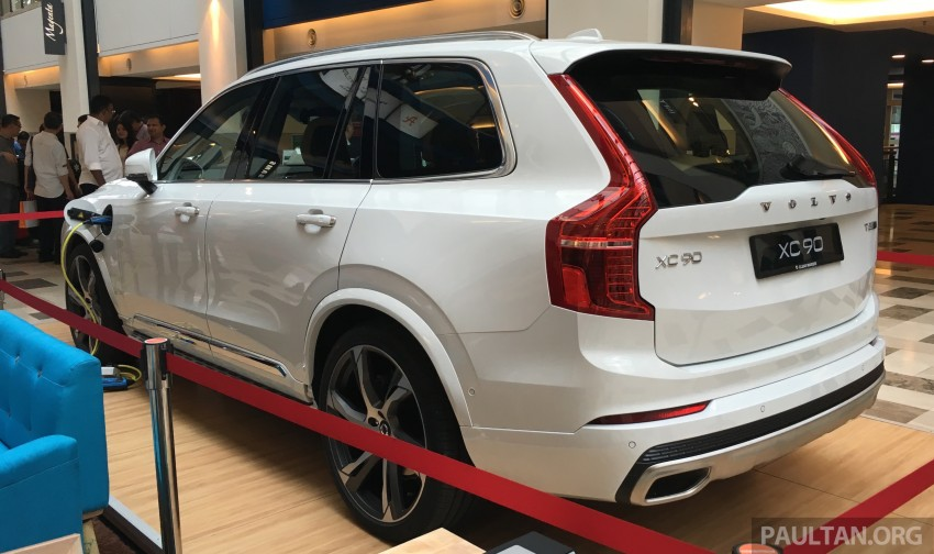 Volvo XC90 T8 Twin Engine launched in M'sia, RM454k Image #416437