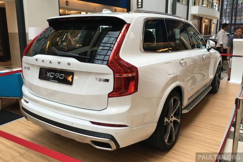 Volvo XC90 T8 Twin Engine launched in M'sia, RM454k Image #416439