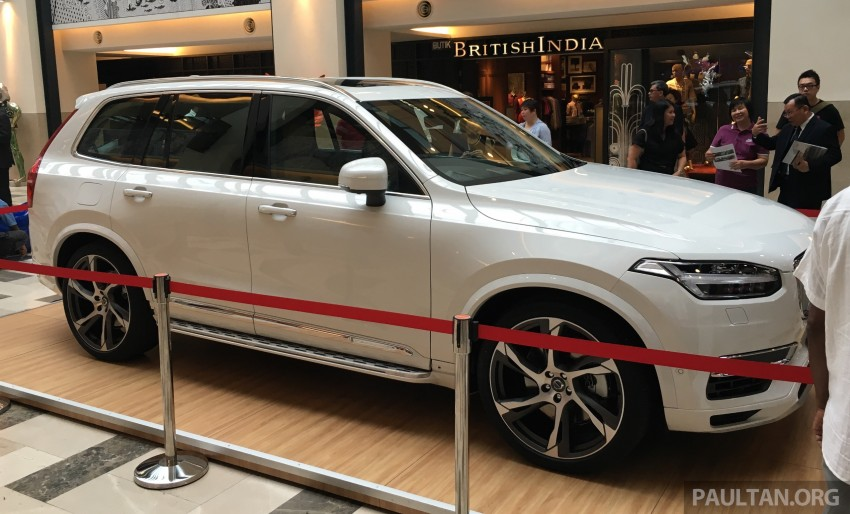 Volvo XC90 T8 Twin Engine launched in M'sia, RM454k Image #416443