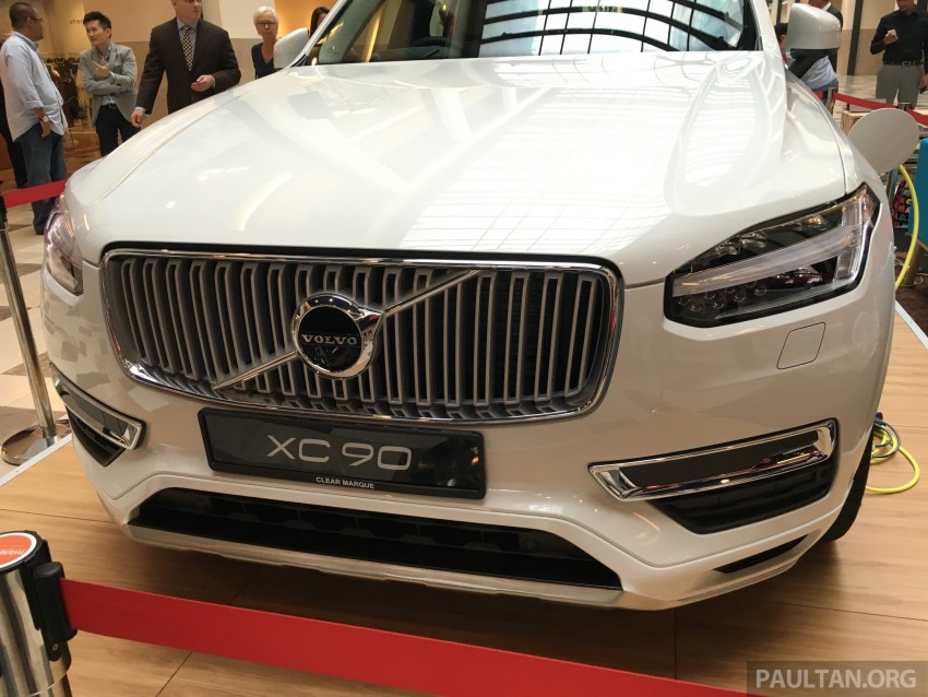 Volvo XC90 T8 Twin Engine launched in M'sia, RM454k Image #416445