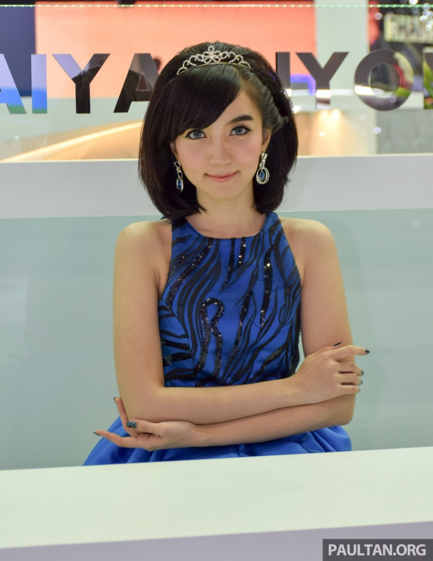 GALLERY: The girls of the 2015 Thailand Motor Expo Image #416327