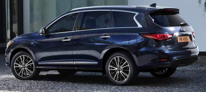 2016 Infiniti QX60 facelift seven-seater revealed Image #419780