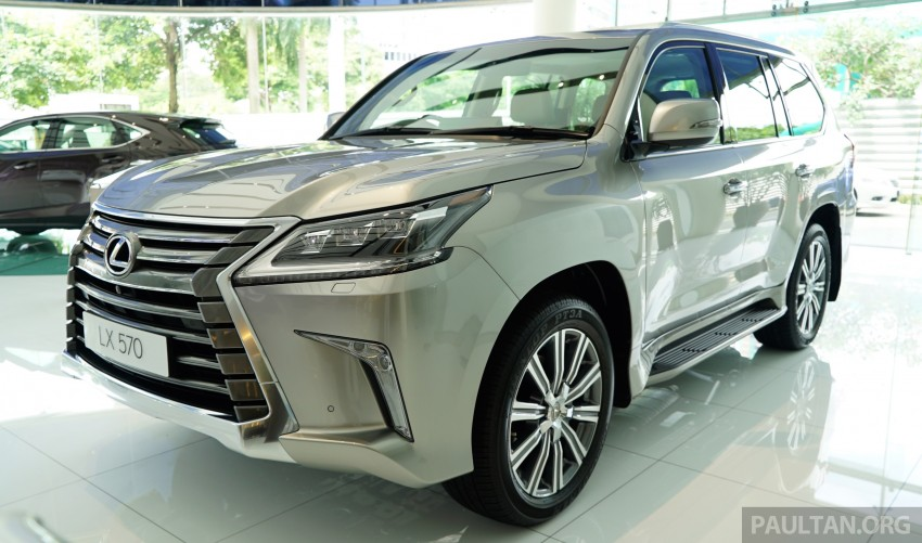 GALLERY: 2016 Lexus LX 570 in Malaysian showroom Image #414953
