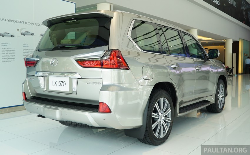GALLERY: 2016 Lexus LX 570 in Malaysian showroom Image #414955
