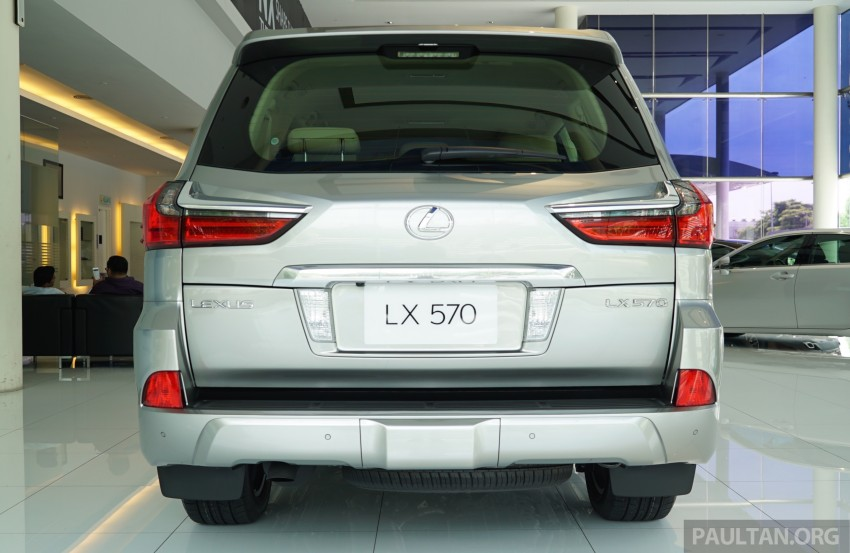 GALLERY: 2016 Lexus LX 570 in Malaysian showroom Image #414958