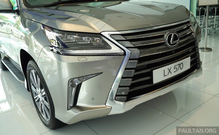 GALLERY: 2016 Lexus LX 570 in Malaysian showroom Image #414960
