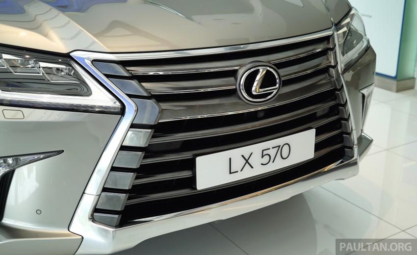 GALLERY: 2016 Lexus LX 570 in Malaysian showroom Image #414961